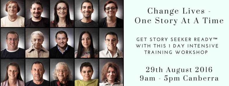 Change Lives - 1 day Canberra 25th July-4
